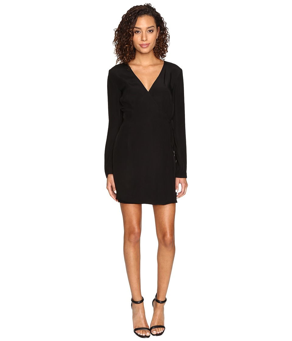 KEEPSAKE THE LABEL - Capture Long Sleeve Dress (Black) Women's Dress