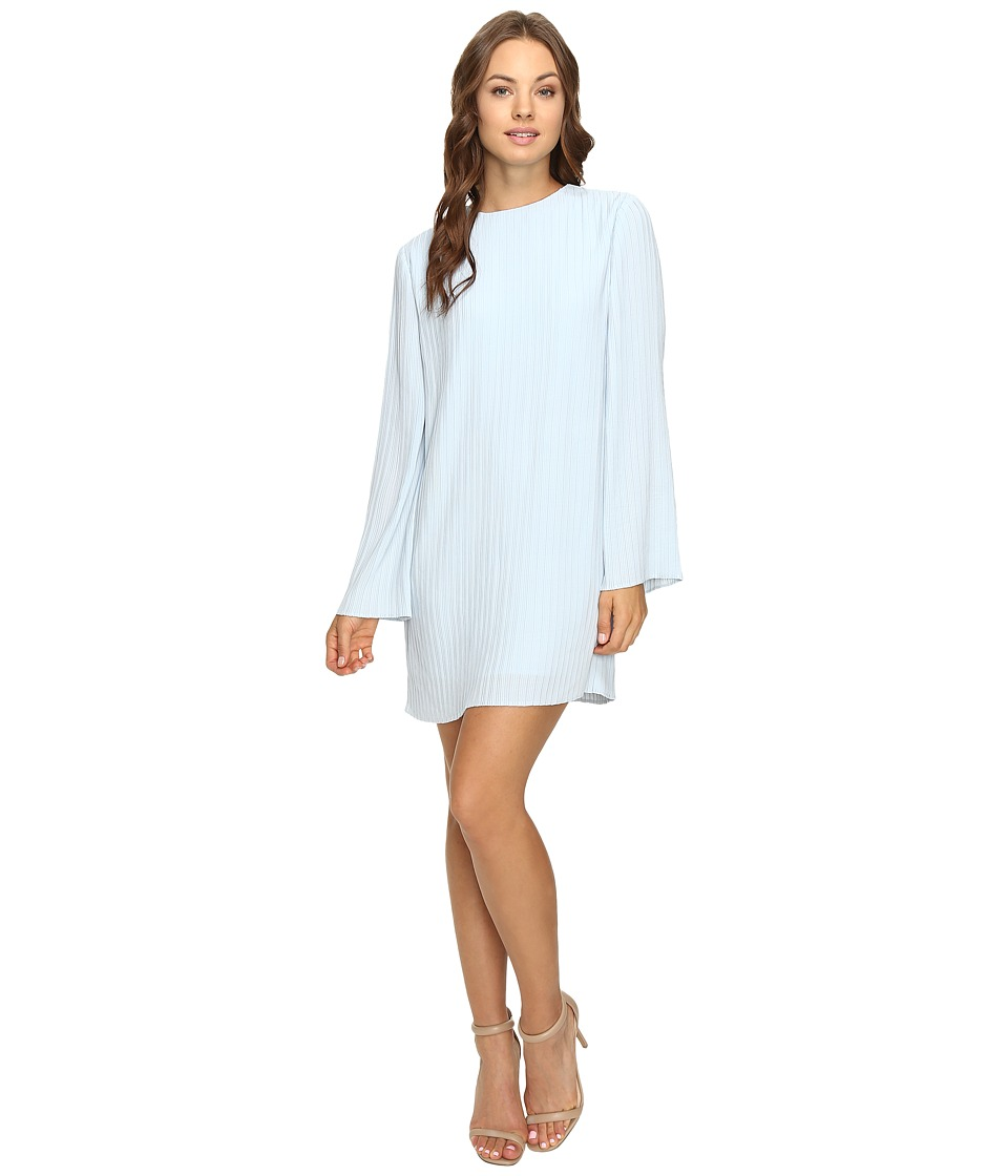 KEEPSAKE THE LABEL Listen Out Long Sleeve Dress (Pastel Blue) Women