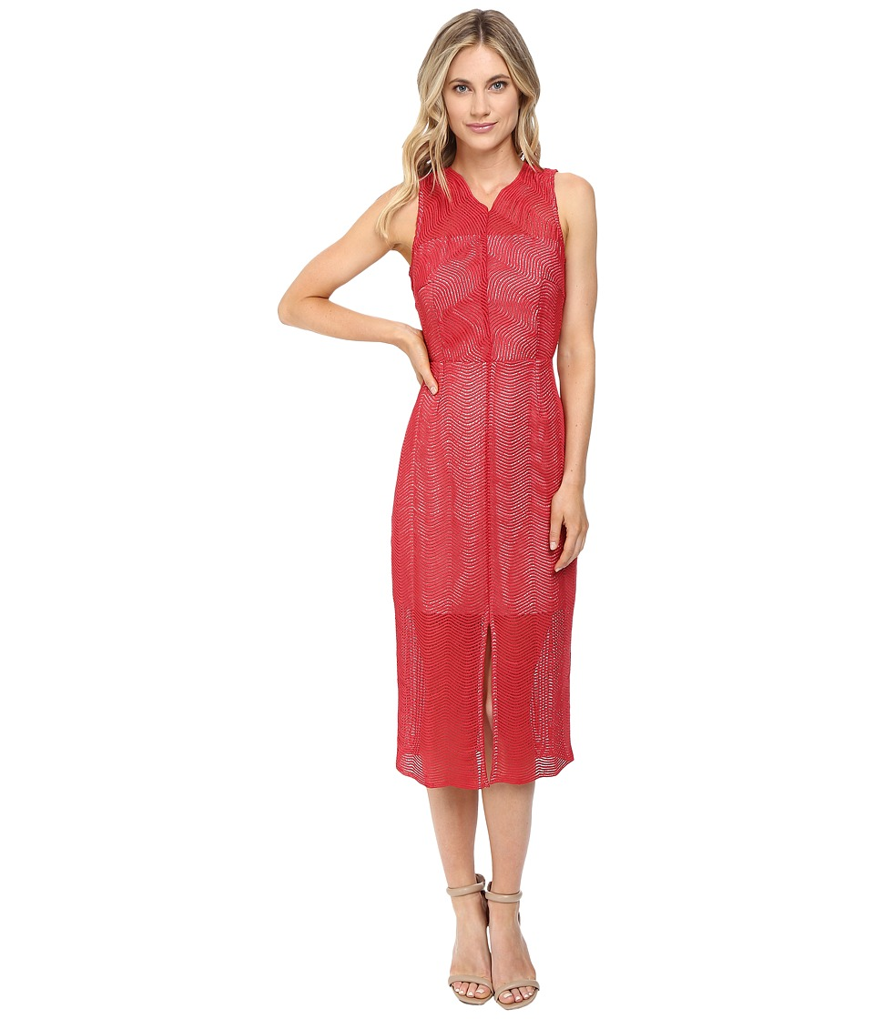 KEEPSAKE THE LABEL - Think Twice Lace Dress (Red Ochre) Women's Dress