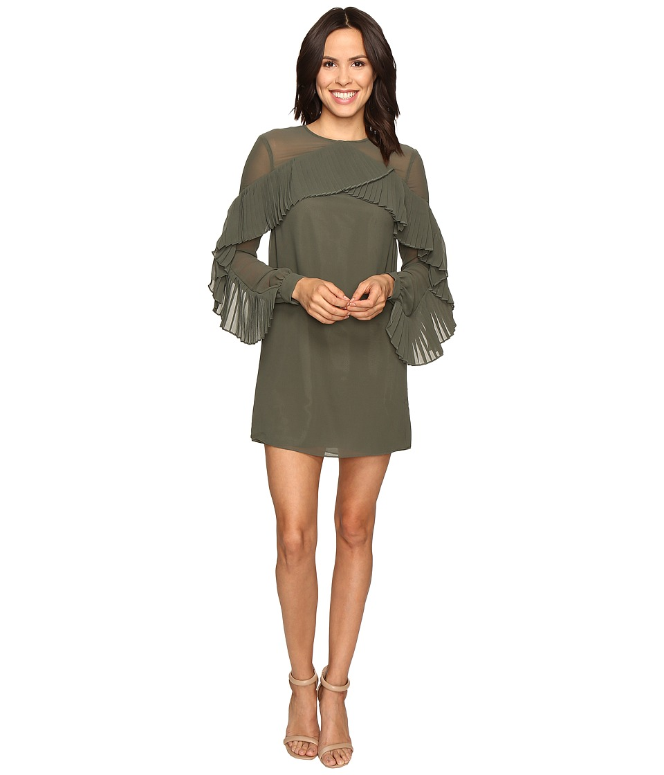 KEEPSAKE THE LABEL - Don't Wait Mini Dress (Khaki) Women's Dress