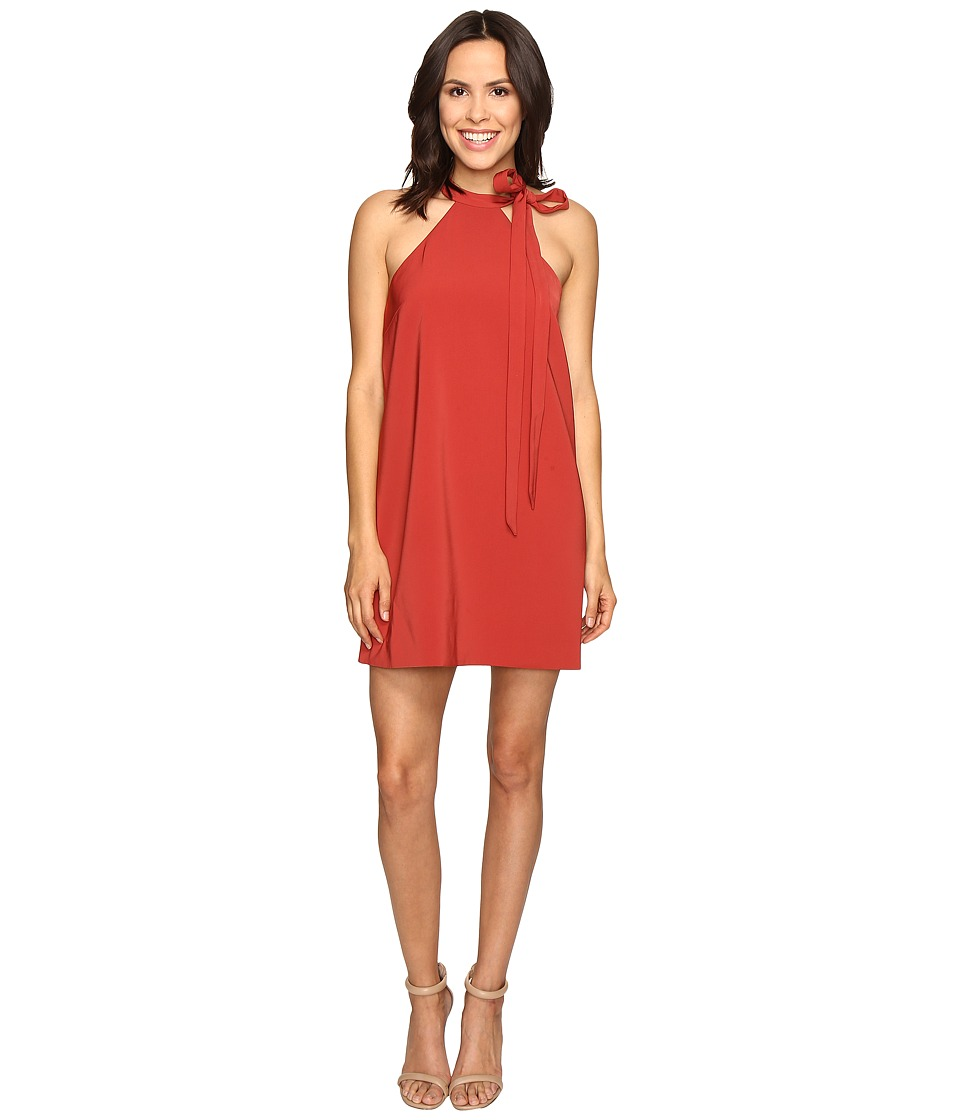 KEEPSAKE THE LABEL - Two Minds Mini Dress (Rust) Women's Dress