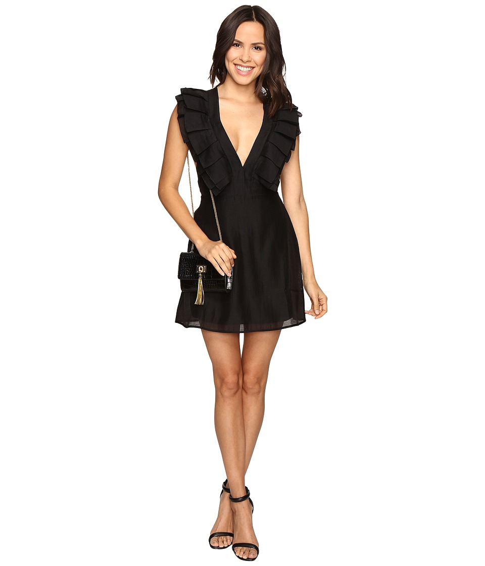 KEEPSAKE THE LABEL - Remind Me Mini Dress (Black) Women's Dress
