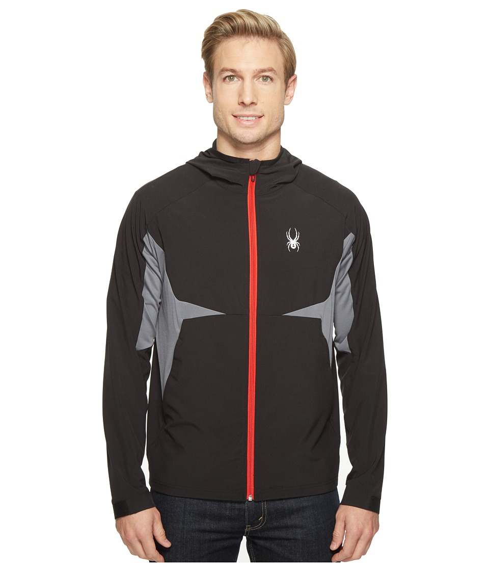 Spyder - Orbit Shell Jacket (Black) Men's Coat