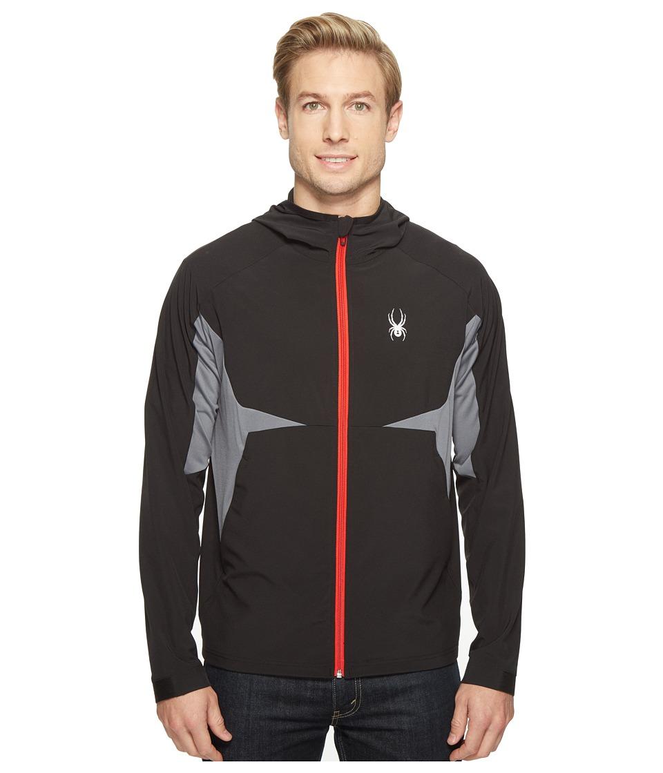 Spyder - Orbit Shell Jacket (Black) Men's Coat