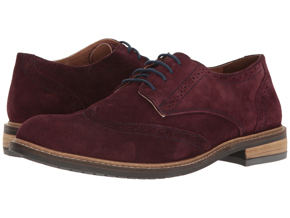 Lotus - Garrett (Aubergine Suede) Men's Shoes