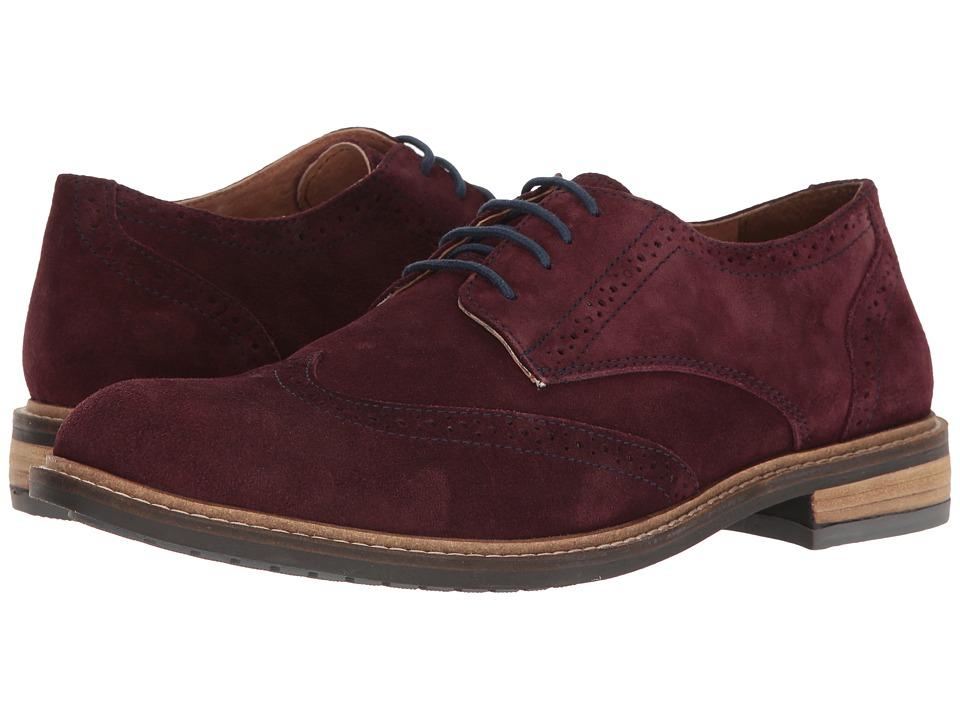 Lotus - Garrett (Aubergine Suede) Men's Shoes