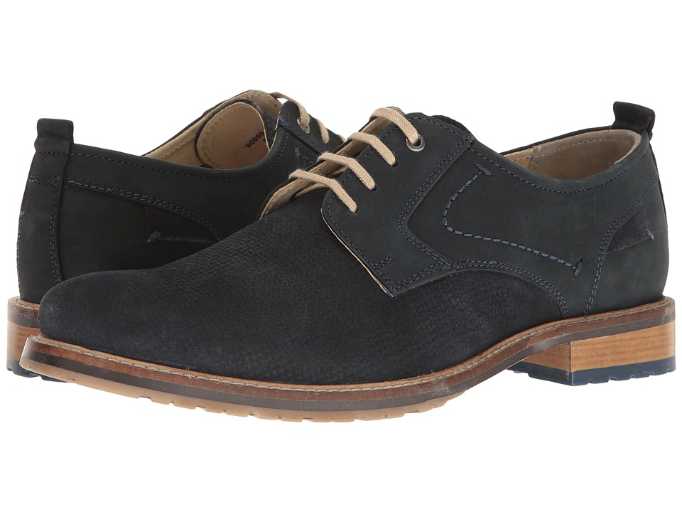 Lotus - Hammond (Blue Leather/Navy Suede) Men's Shoes