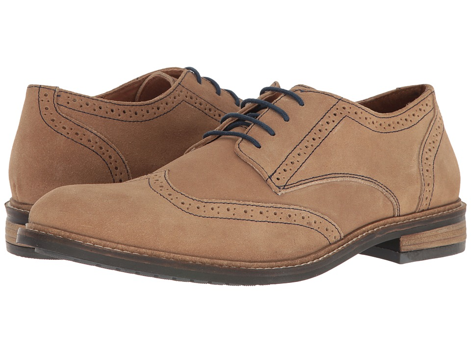 Lotus - Garrett (Natural Suede) Men's Shoes