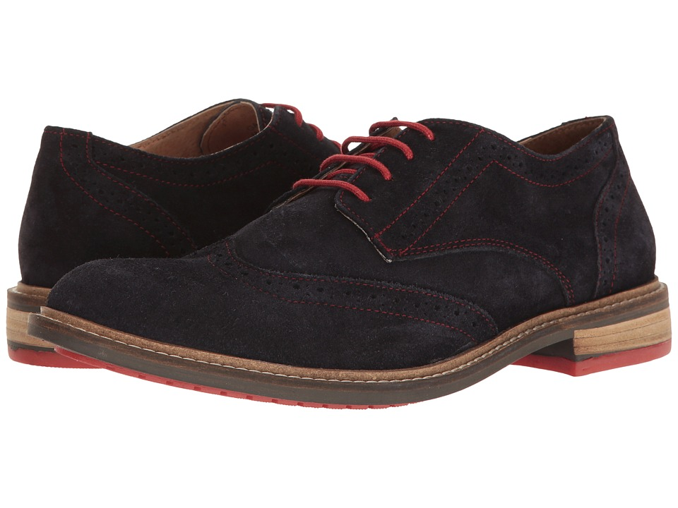 Lotus - Garrett (Navy Suede) Men's Shoes