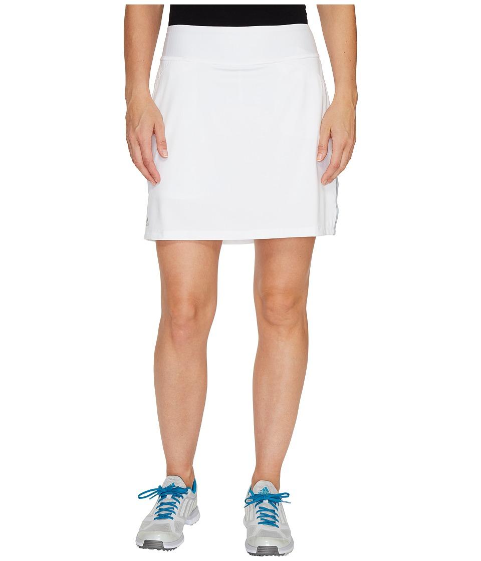 adidas Golf - Rangewear Skort (White) Women's Skort
