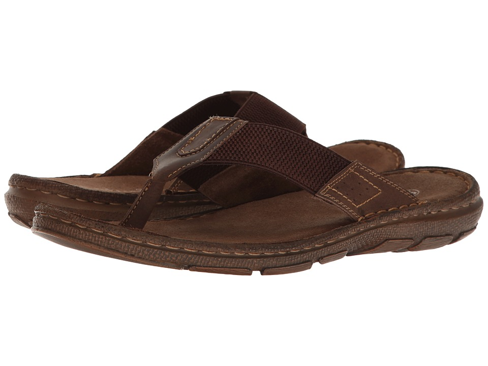 Lotus - Sebastian (Brown Leather/Textile) Men's Sandals