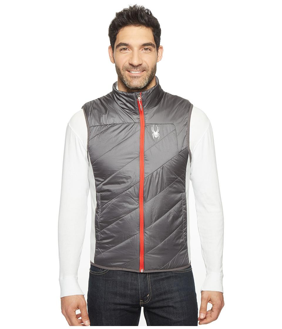 Spyder - Exit Insulator Vest (Carbon/Rage) Men's Vest