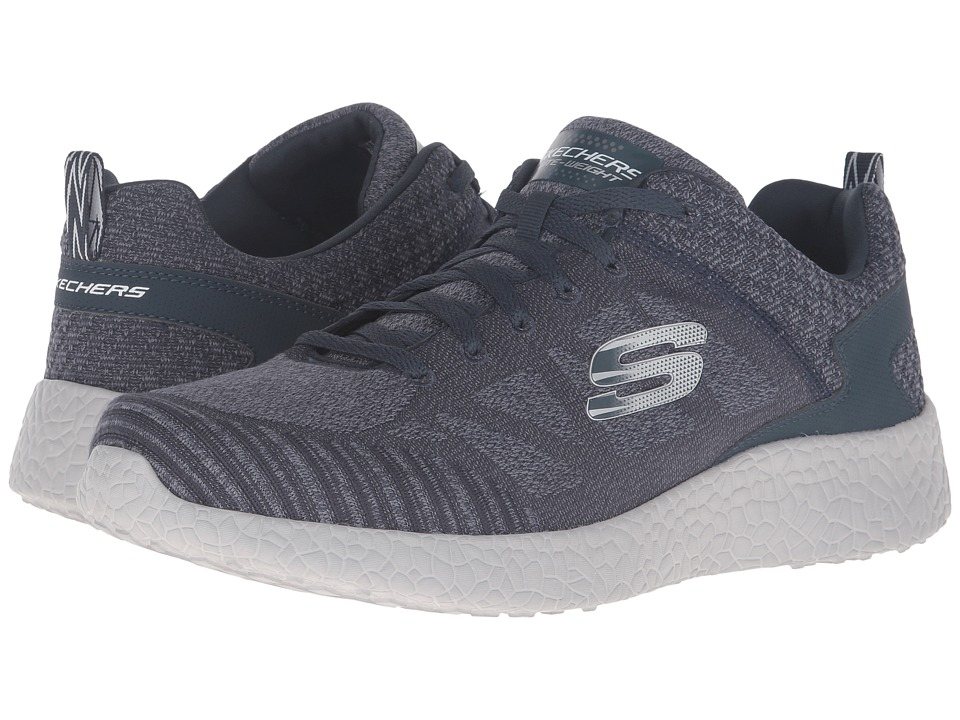 SKECHERS - Burst Deal Closer (Navy/Gray) Men