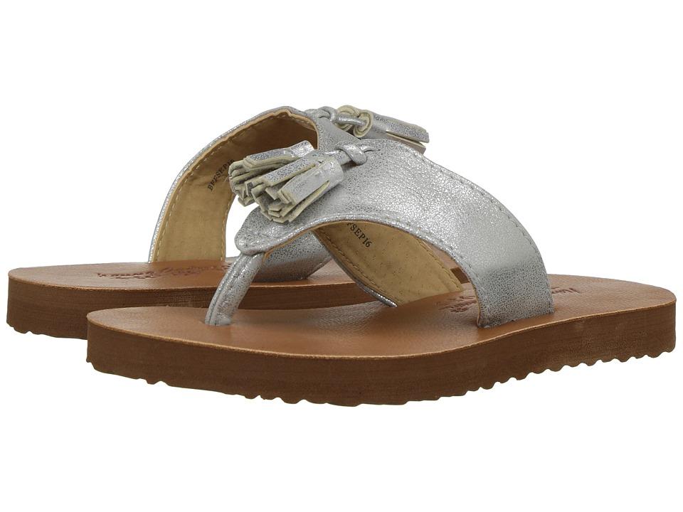 Hanna Andersson Tilde (Toddler/Little Kid/Big Kid) (Silver) Girls Shoes