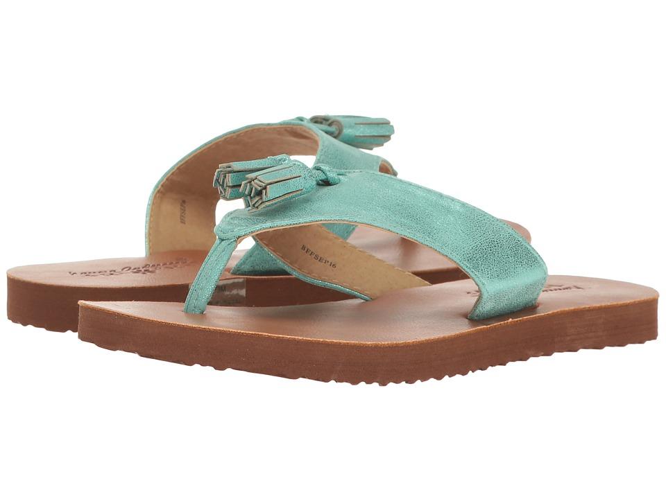 Hanna Andersson Tilde (Toddler/Little Kid/Big Kid) (Turquoise) Girls Shoes