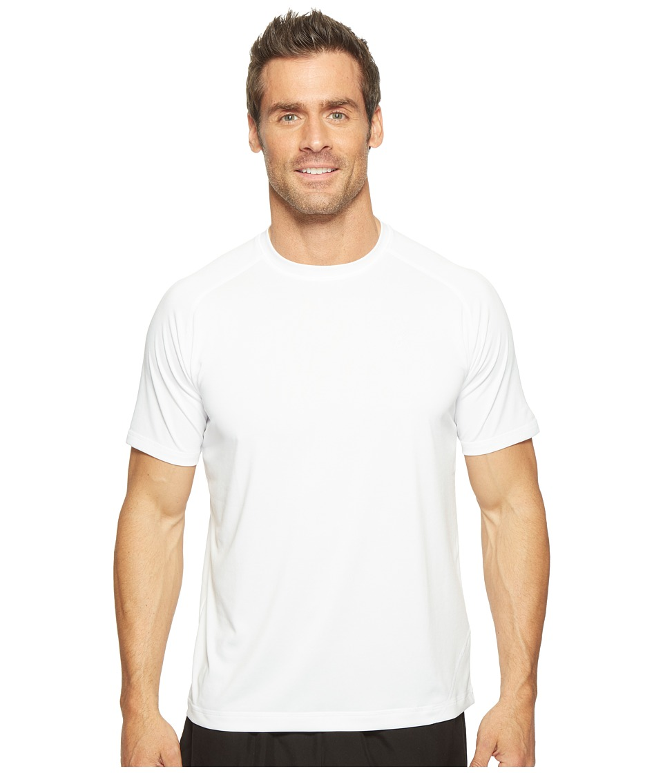 Spyder - Alps Short Sleeve Tech Tee (White) Men's T Shirt