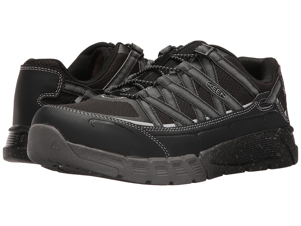 Keen Utility - Asheville AT ESD (Black/Raven) Men's Work Lace-up Boots