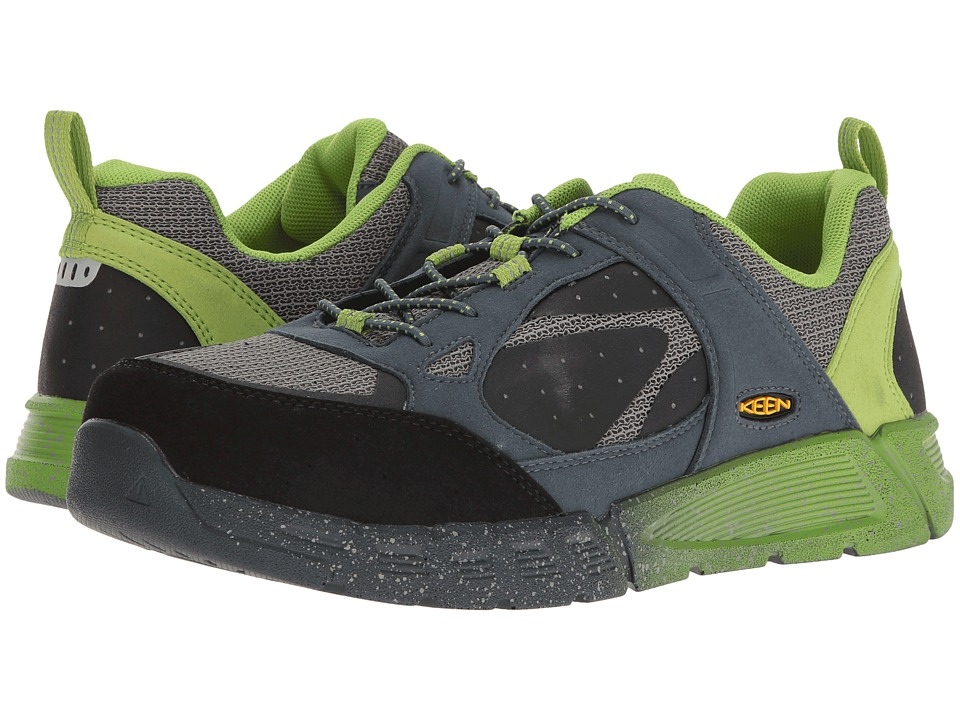 Keen Utility - Raleigh AT (Neutral Gray/Greenery) Men's Work Lace-up Boots