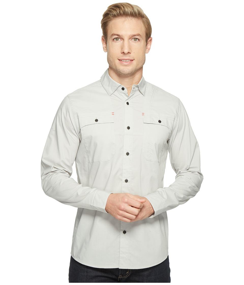 Spyder - Crucial Long Sleeve Button Down Shirt (Cirrus) Men's Long Sleeve Button Up