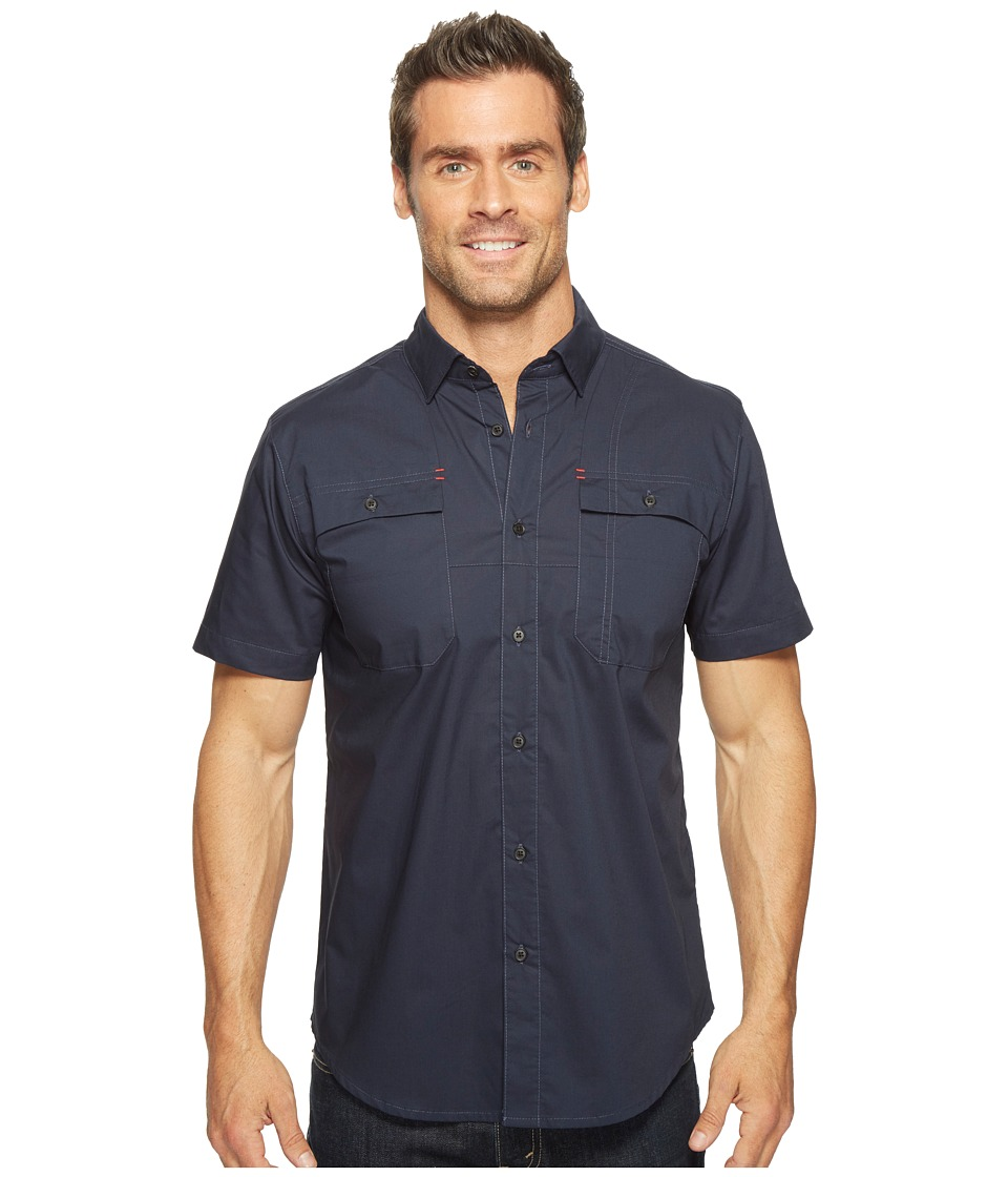 Spyder - Crucial Short Sleeve Button Down Shirt (Frontier) Men's Short Sleeve Button Up
