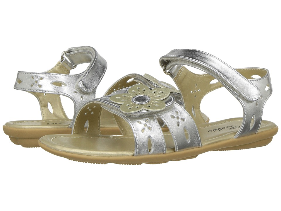 Jumping Jacks Kids Balleto Ivy (Toddler/Little Kid/Big Kid) (Silver Metallic) Girls Shoes