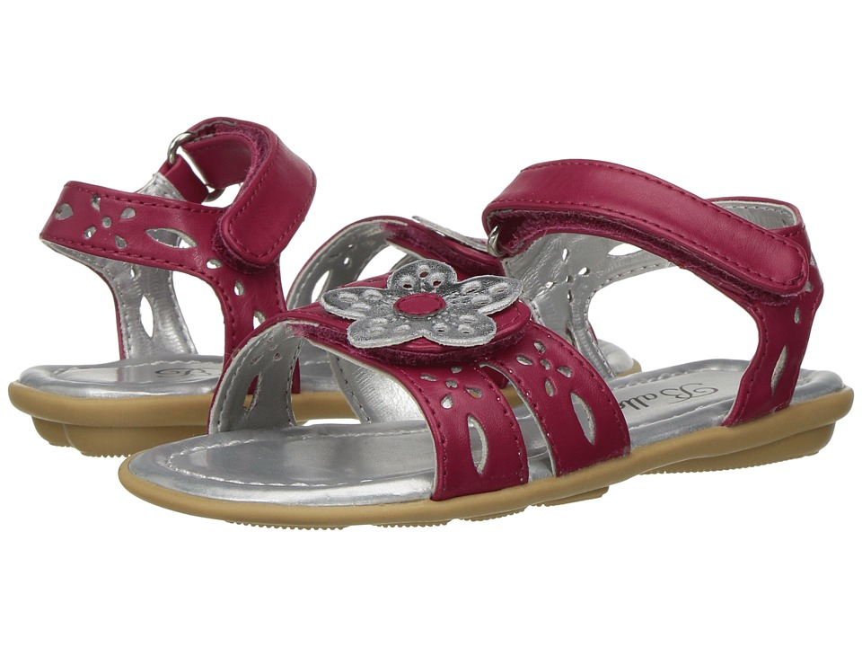 Jumping Jacks Kids Balleto Ivy (Toddler/Little Kid/Big Kid) (Pink/Silver) Girls Shoes