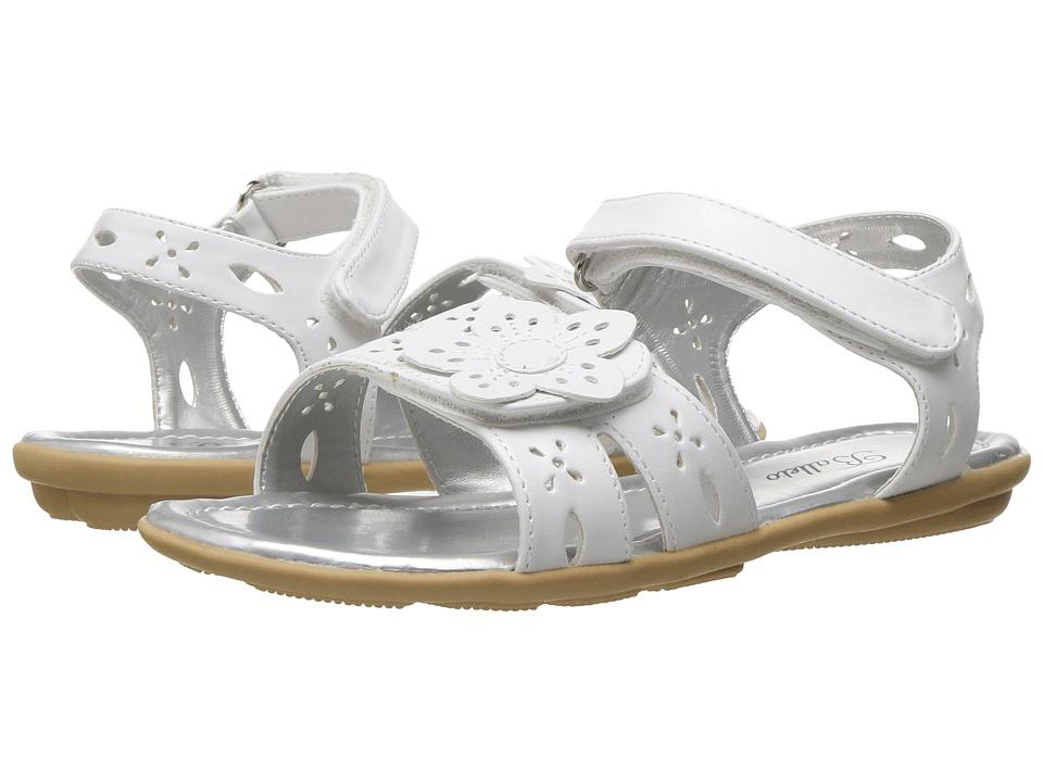 Jumping Jacks Kids - Balleto - Ivy (Toddler/Little Kid/Big Kid) (White) Girls Shoes