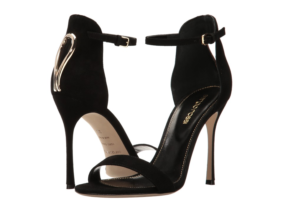 Sergio Rossi - Blink (Black Suede) High Heels