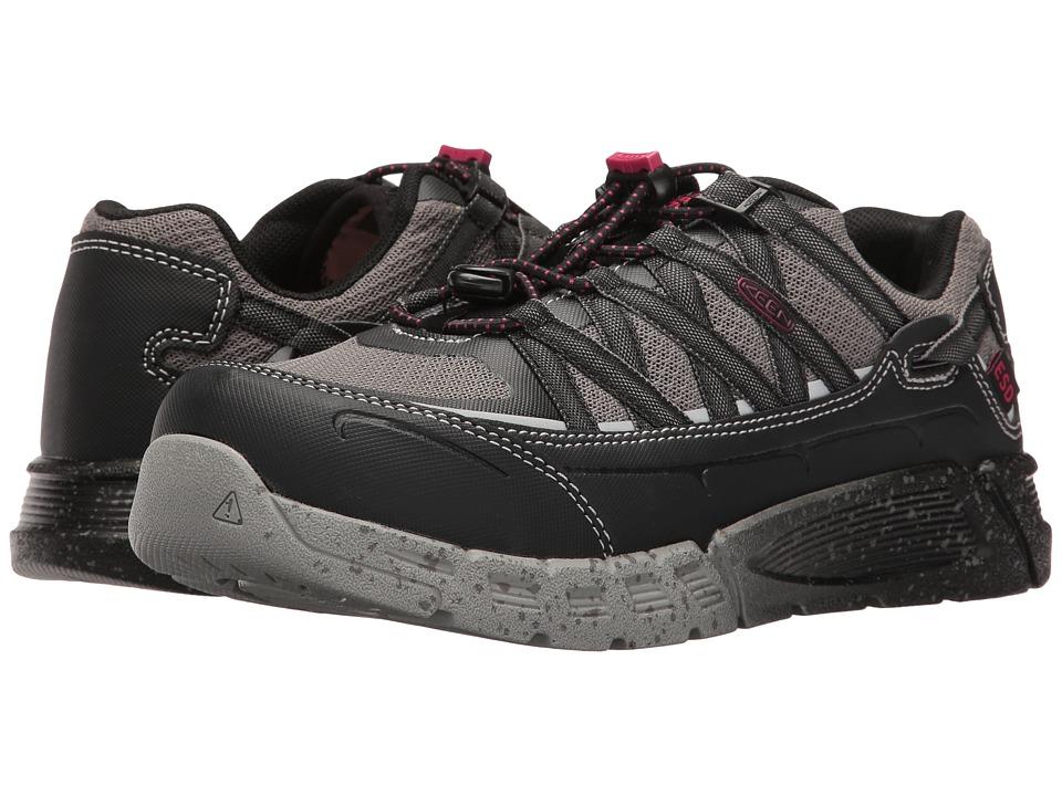 Keen Utility - Asheville AT ESD (Black/Gargoyle) Women's Work Pull-on Boots