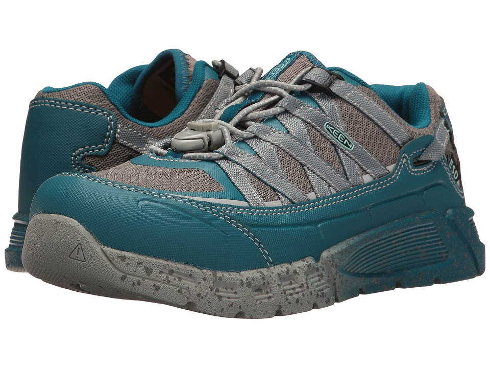 Keen Utility - Asheville AT ESD (Ink Blue/Eggshell Blue) Women's Work Pull-on Boots