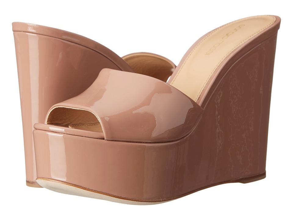 Sergio Rossi - Lakeesha (Bright Skin Patent) Women's Wedge Shoes