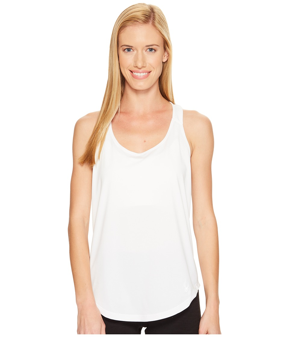 Spyder - Aura Tank Top (White) Women's Sleeveless