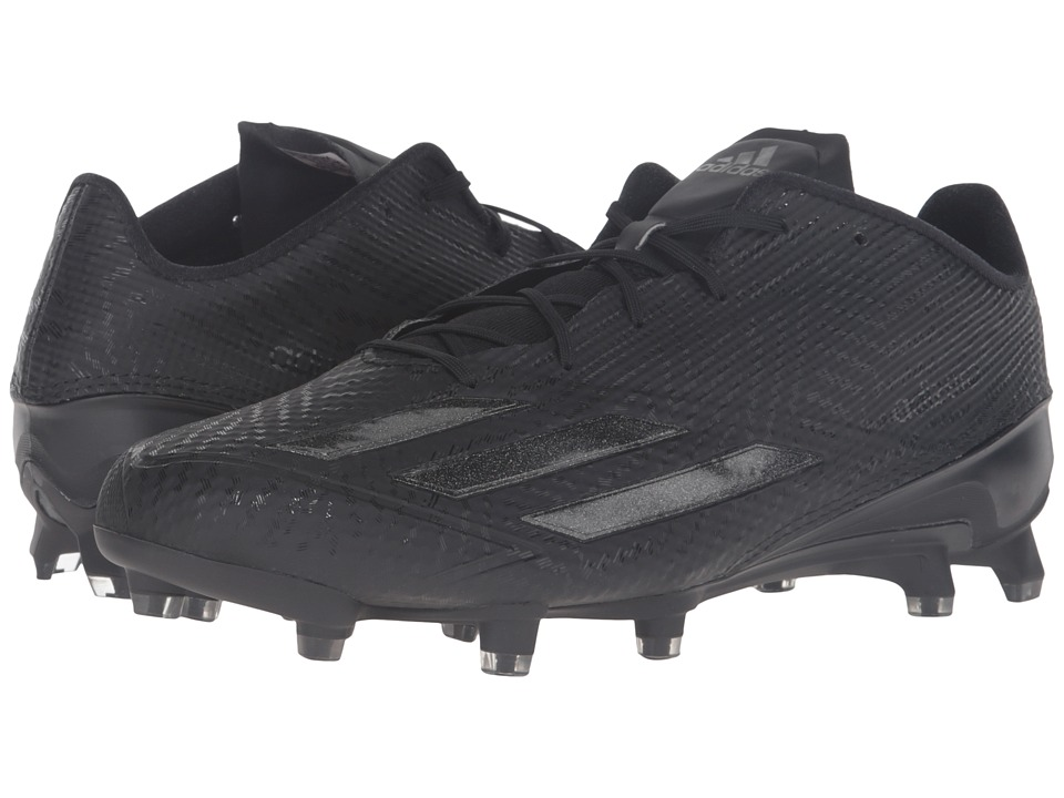 adidas - Adizero 5-Star 5.0 (Black/Black/Black) Men's Shoes