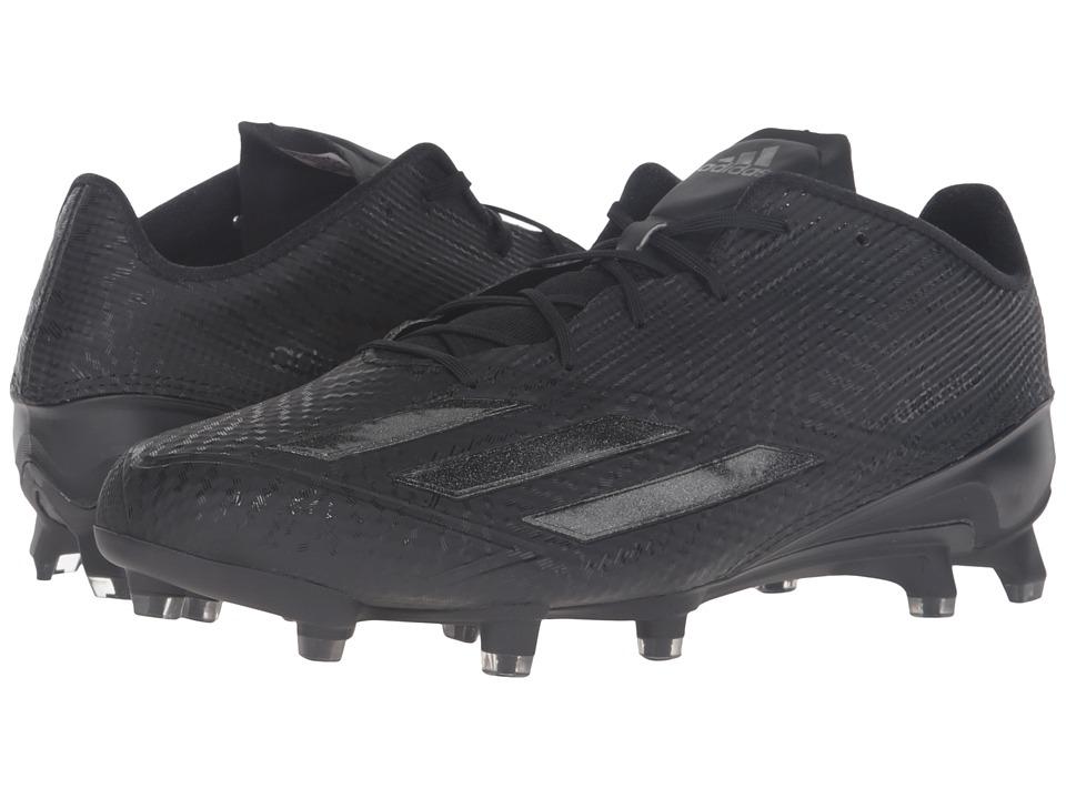 adidas - Adizero 5-Star 5.0 (Black/Black/Black) Men's Shoes
