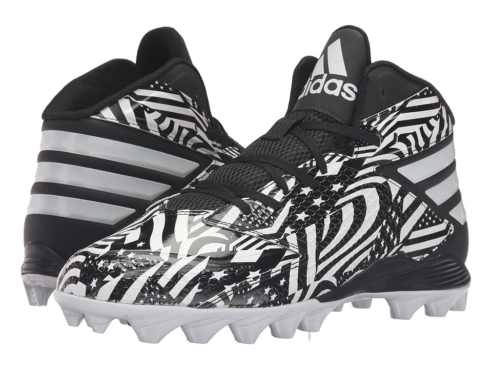 adidas - Freak MD (White/White/Black) Men's Shoes