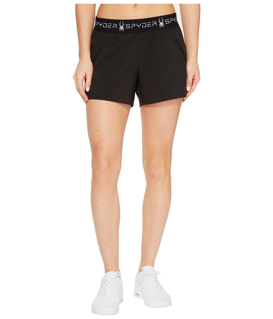Spyder - Wyser Tech Shorts (Black) Women's Shorts