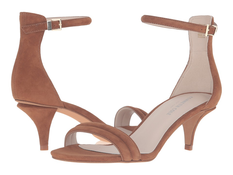 Kenneth Cole New York - Hannah (Cognac Suede) Women's Shoes