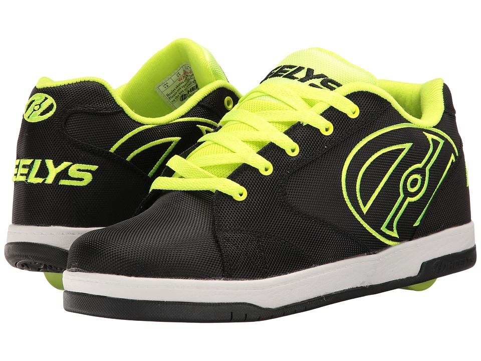 Heelys - Propel 2.0 Ballistic (Black/Bright Yellow/Ballistic) Boys Shoes