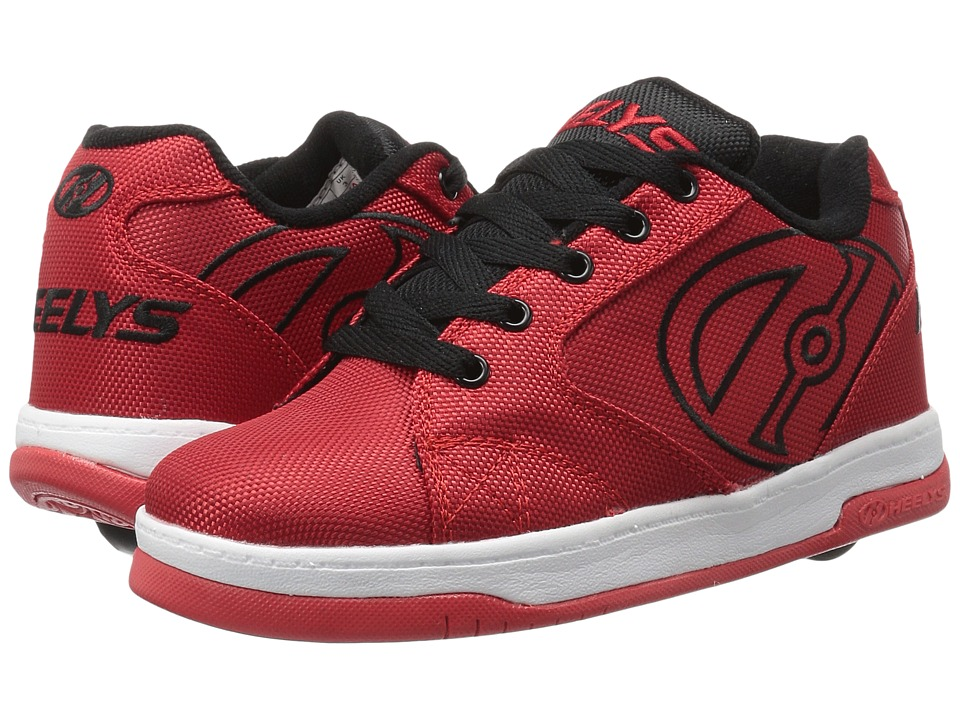 Heelys Propel 2.0 Ballistic (Little Kid/Big Kid/Adult) (Red/Black/Ballistic) Boys Shoes