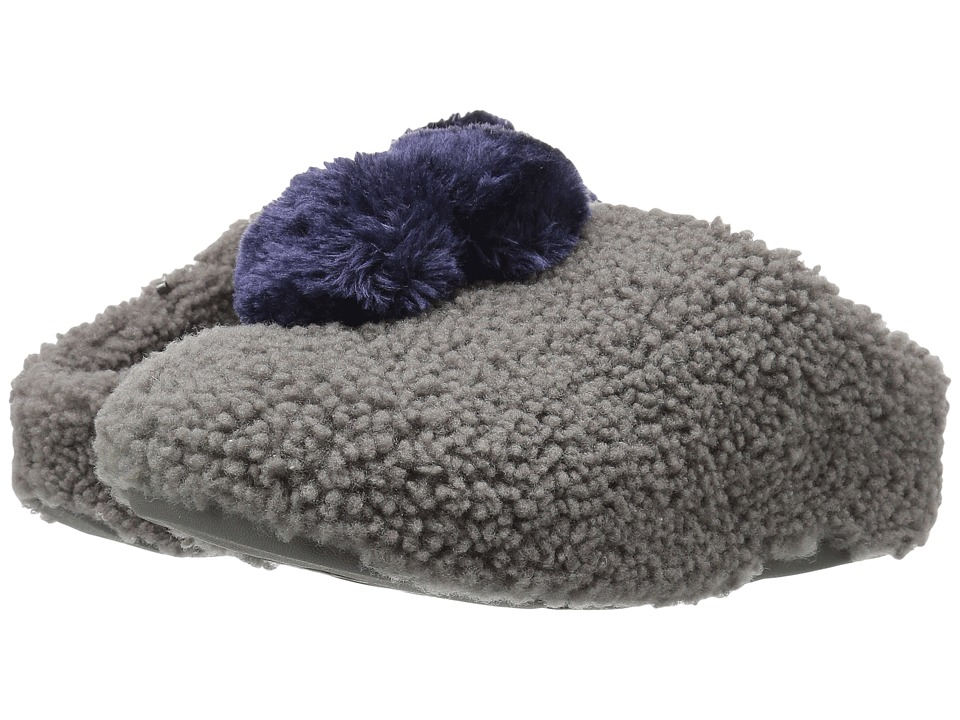 FitFlop - House with Pom Poms (Charcoal) Women's Shoes