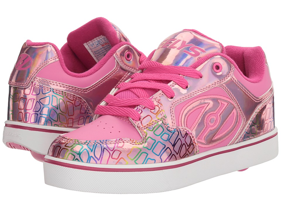 Heelys - Motion Plus (Little Kid/Big Kid/Adult) (Pink/Light Pink/Multi) Girl's Shoes