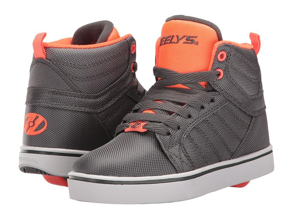 Heelys - Uptown Ballistic (Little Kid/Big Kid/Adult) (Charcoal/Orange Ballistic) Boys Shoes