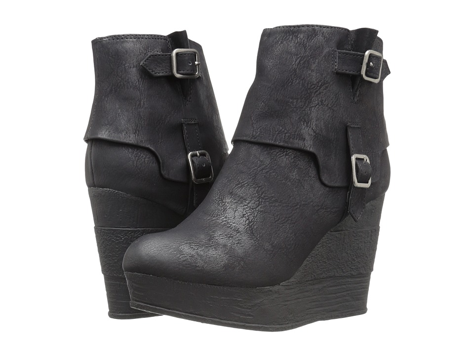 Sbicca - Fianna (Black) Women's Shoes