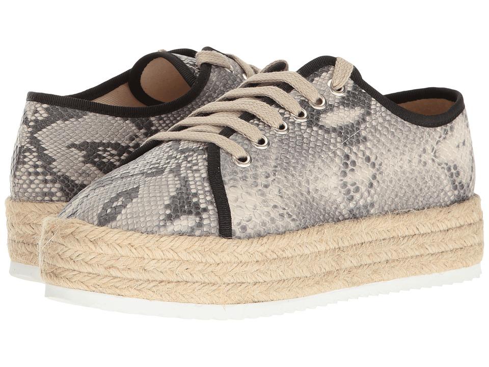Cordani - Romero (Black/White Snake) Women's Shoes
