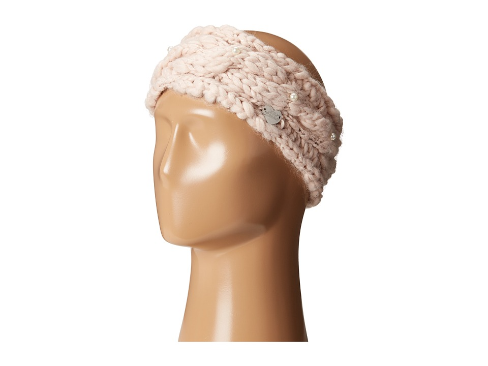 Betsey Johnson - Pearly Girl Headband (Blush) Headband
