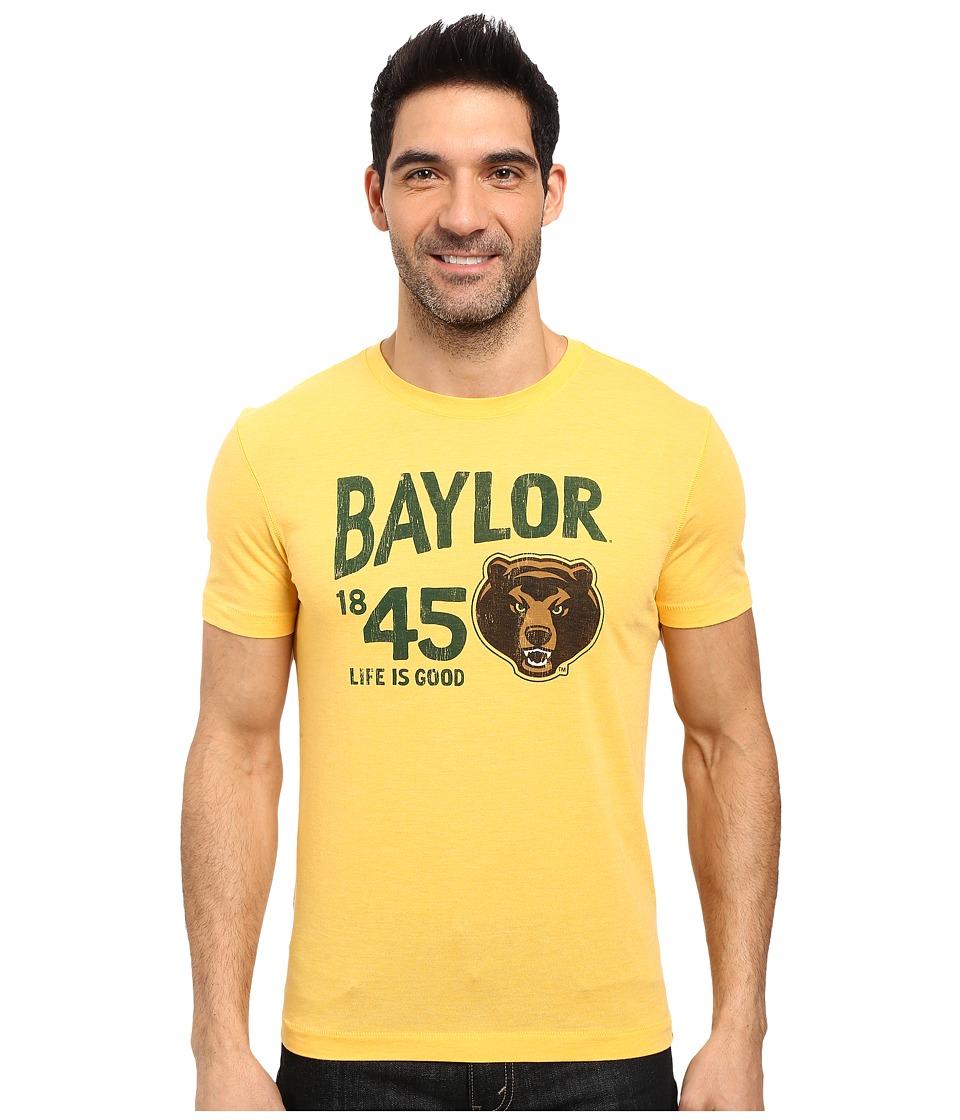 Life is Good Baylor Short Sleeve Tee (Gold Yellow) Men