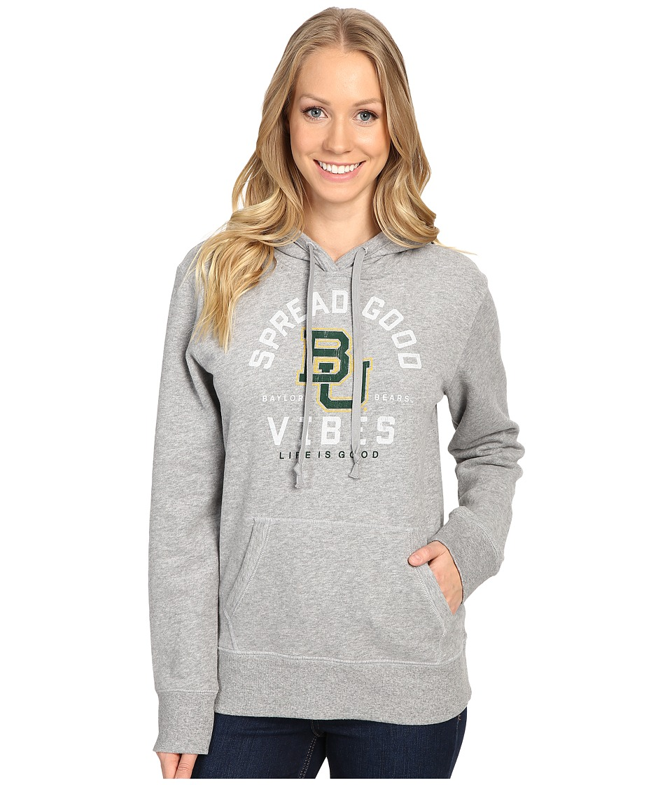 Life is good - SGV Hoodie (Heather Grey 1) Women's Sweatshirt