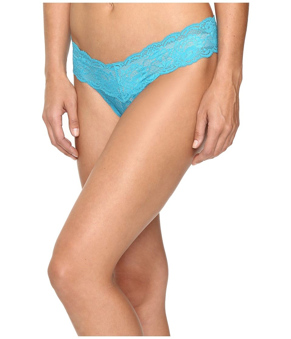 Cosabella - Never Say Never Cutie Lowrider Thong (Picasso Blue) Women's Underwear