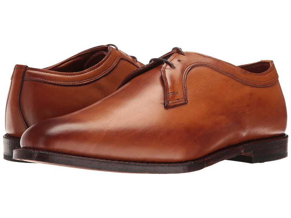 Allen Edmonds - Grantham (Walnut Burnished Calf) Men's Lace Up Wing Tip Shoes