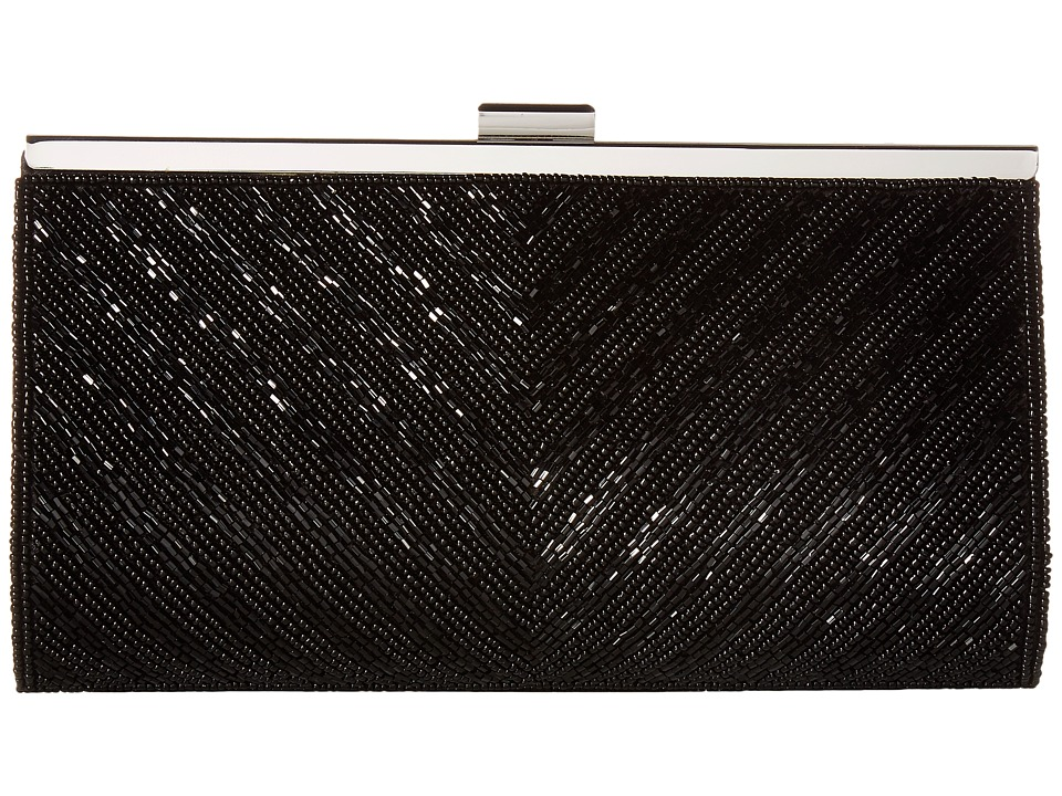 Nina - Haelyn (Black Beaded) Clutch Handbags